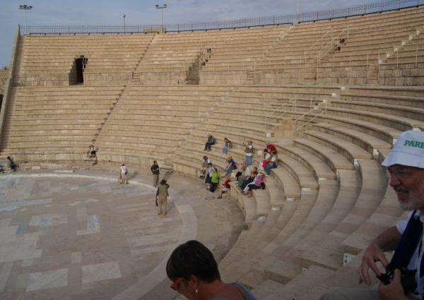 Amphithéatre de Césarée Maritime