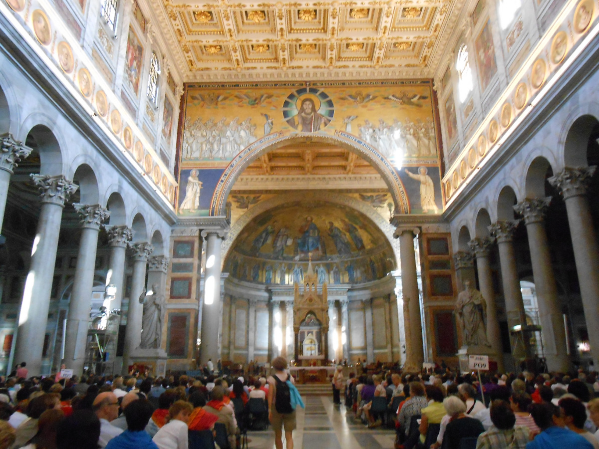 2e plus grande basillique de Rome