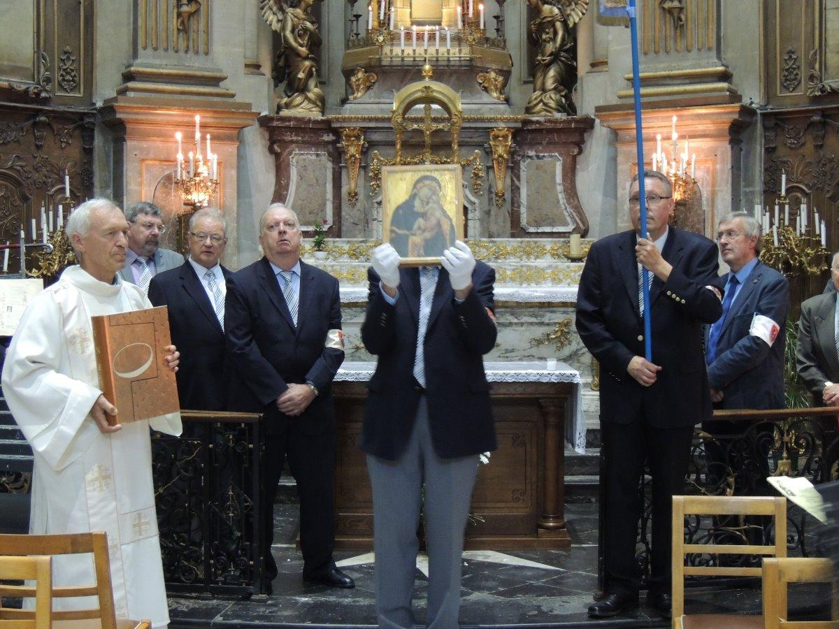 Pierre Hego, diacre et les gardes Notre-Dame