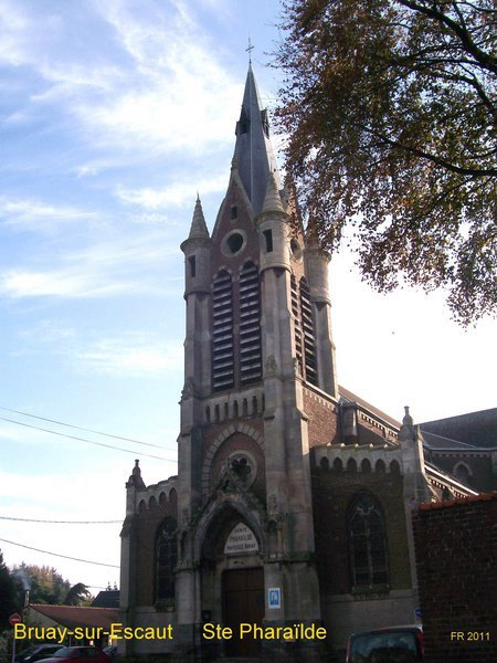 Eglise Ste Pharaïlde - Bruay/Escaut