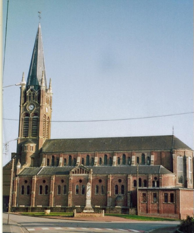 Eglise 2 Caullery