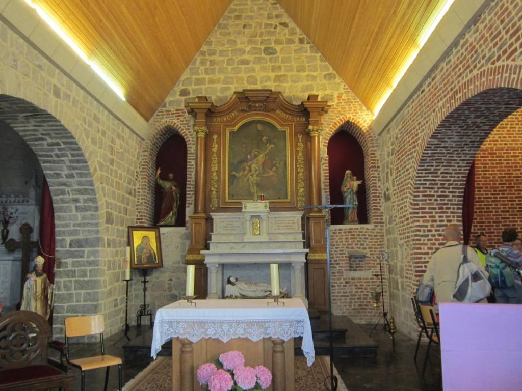 Eglise de Verchain Maugre interieur