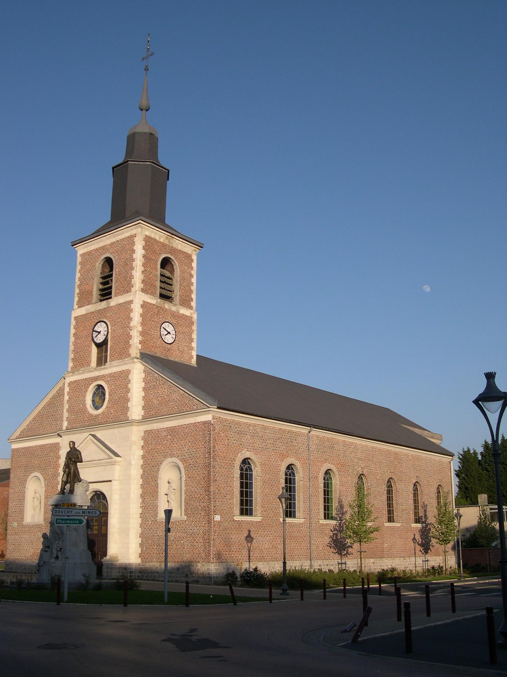 église Notre dame de l'Assomption à Lourches