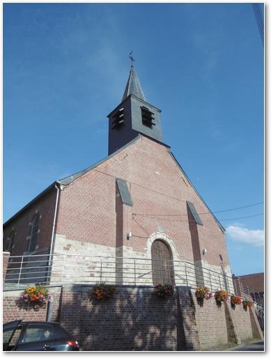L'église paroissiale de Wargnies-le-Petit.