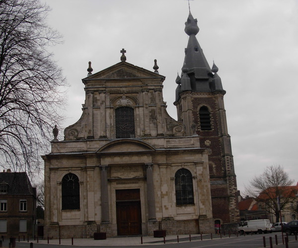 Eglise de Saint-Wasnon à Condé-sur-L'Escaut