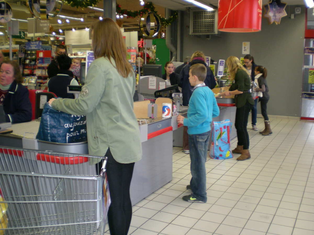 EMBALLAGE A CARREFOUR
