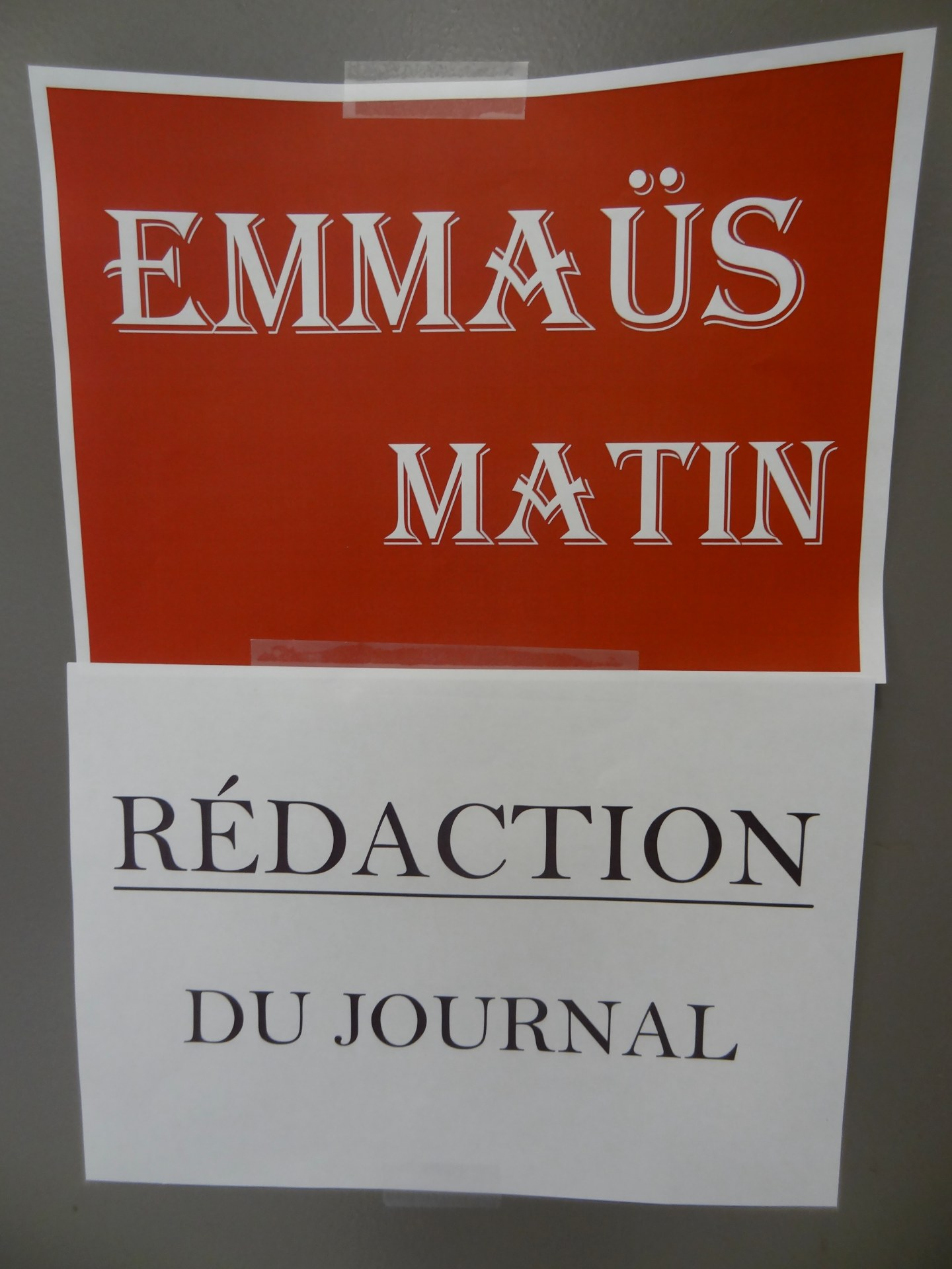 2. Emmaus Matin