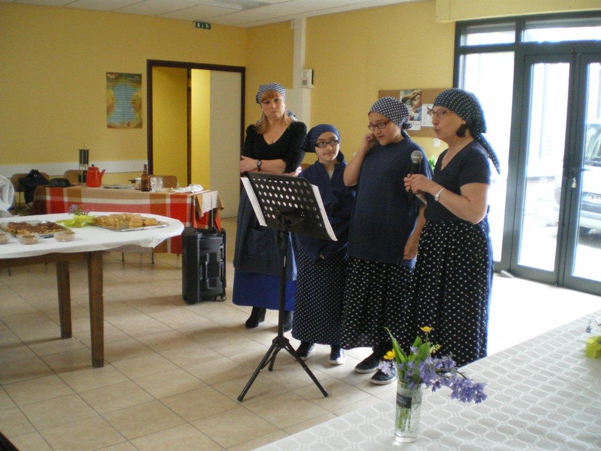 Equipe chanteuses