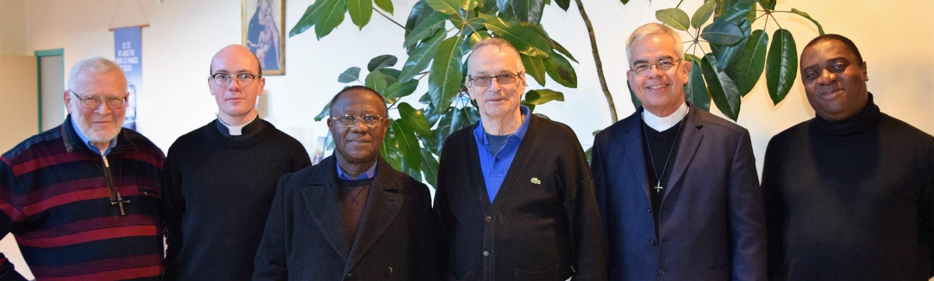 l'equipe sacerdotale NDSC 2018-2019
