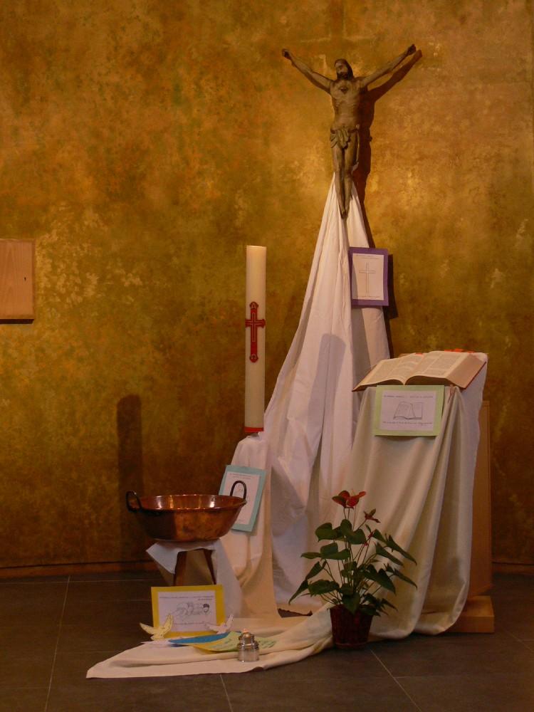 évocation de notre baptême