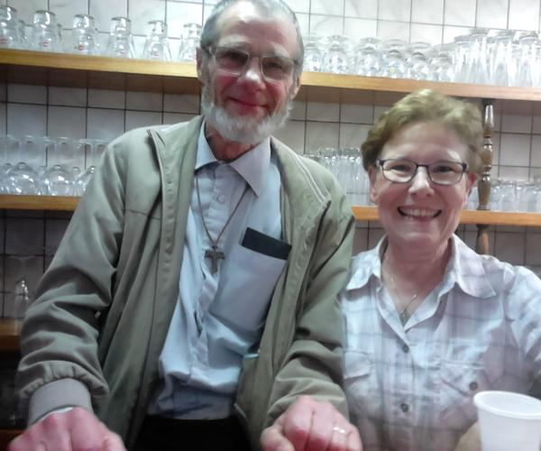 Merci à Hélène et Gorges, de notre paroisse, qui ont permis cette rencontre !