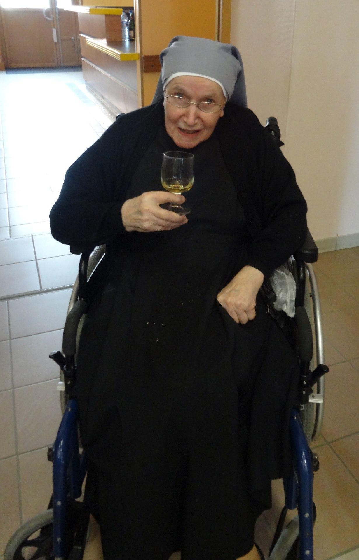 l'éternel  sourire de Sœur Marie-Christine !