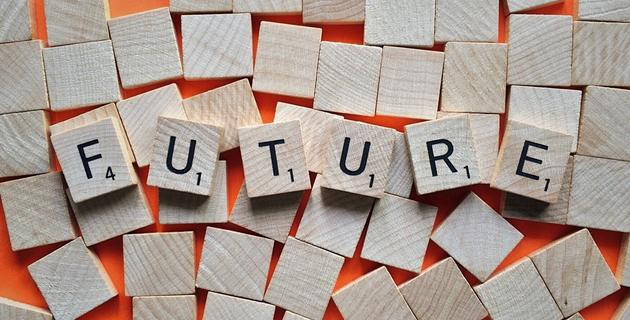 future, time, letters