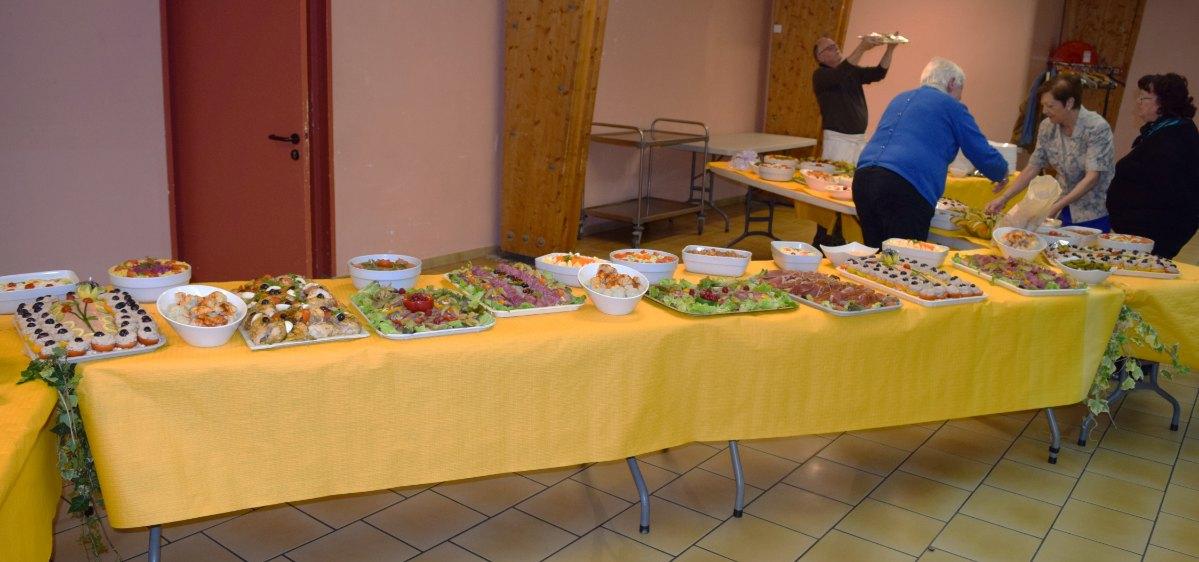 grand buffet d'anniversaire - 2