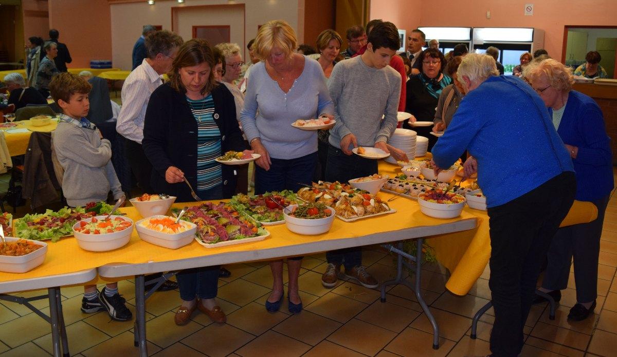 grand buffet d'anniversaire - 8