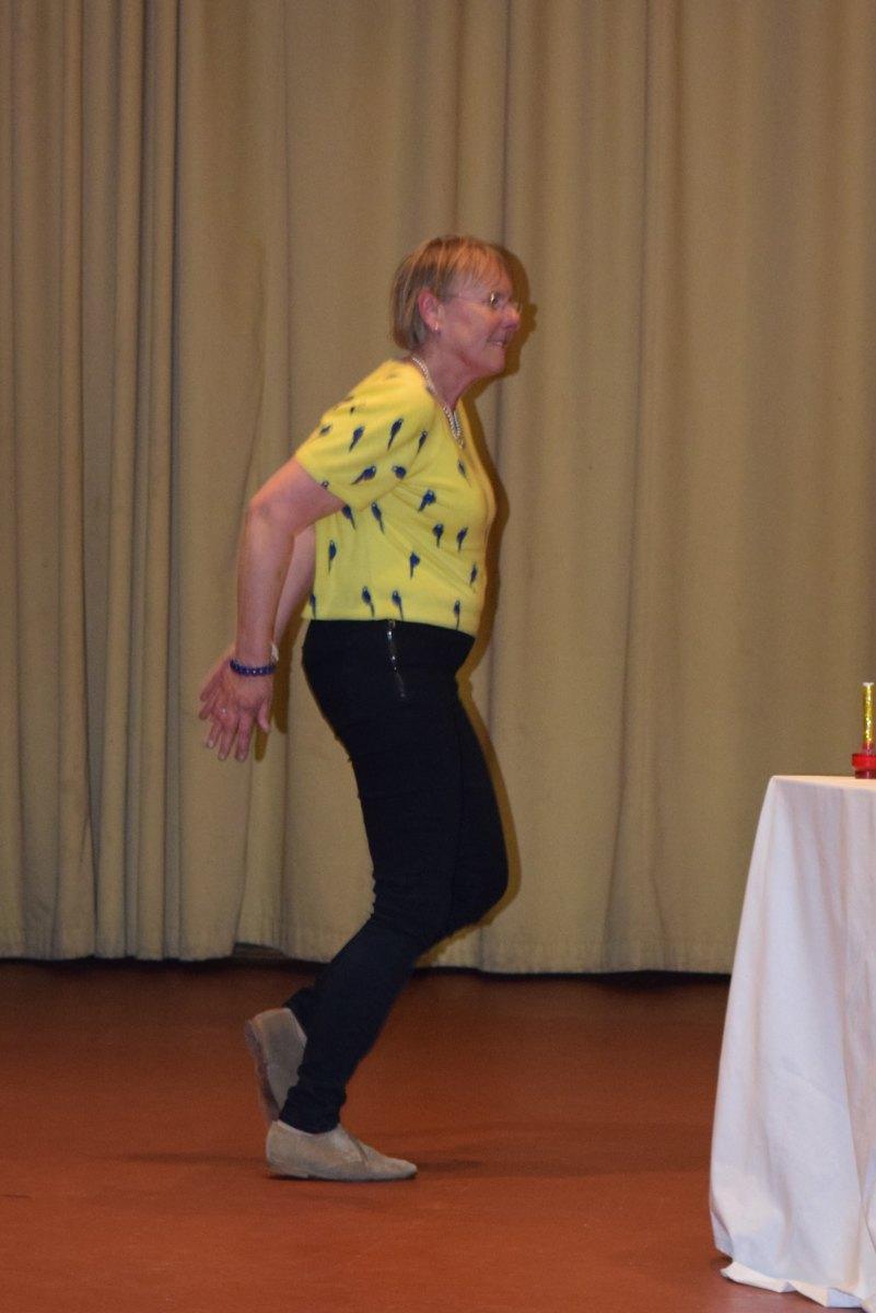Suzanne K. nous fait un petit pas de danse