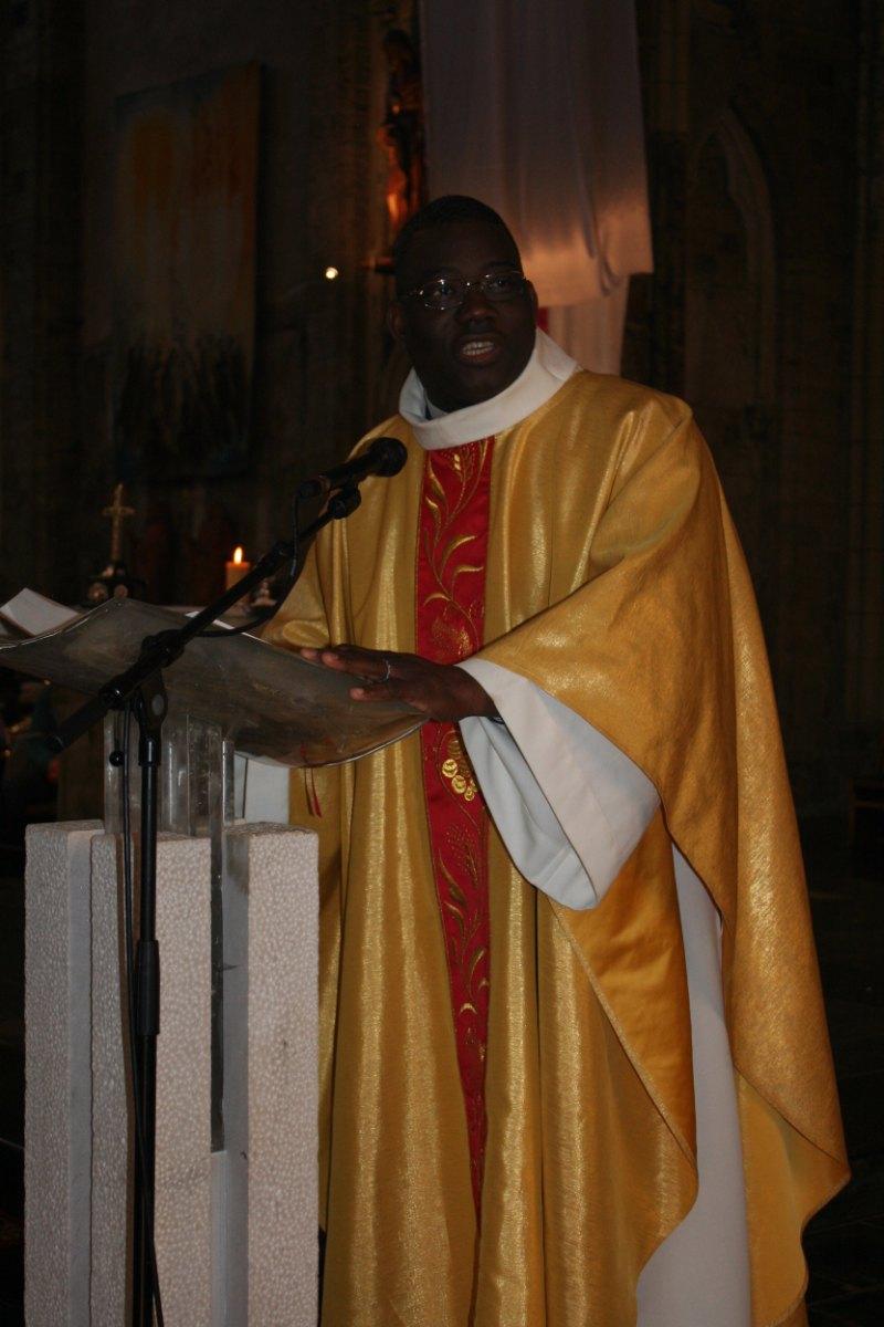 Homélie de l'abbé Dabira.