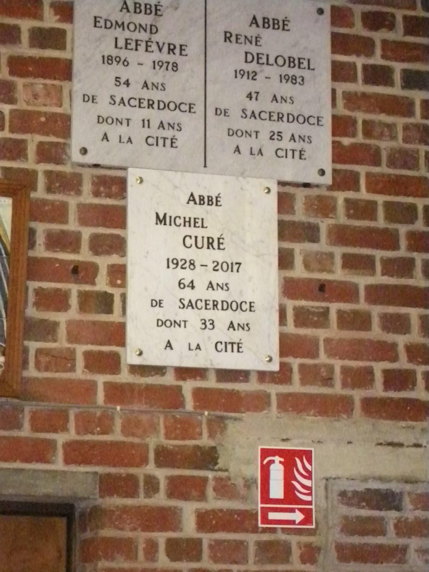 hommage à l'Abbé Michel Curé 3