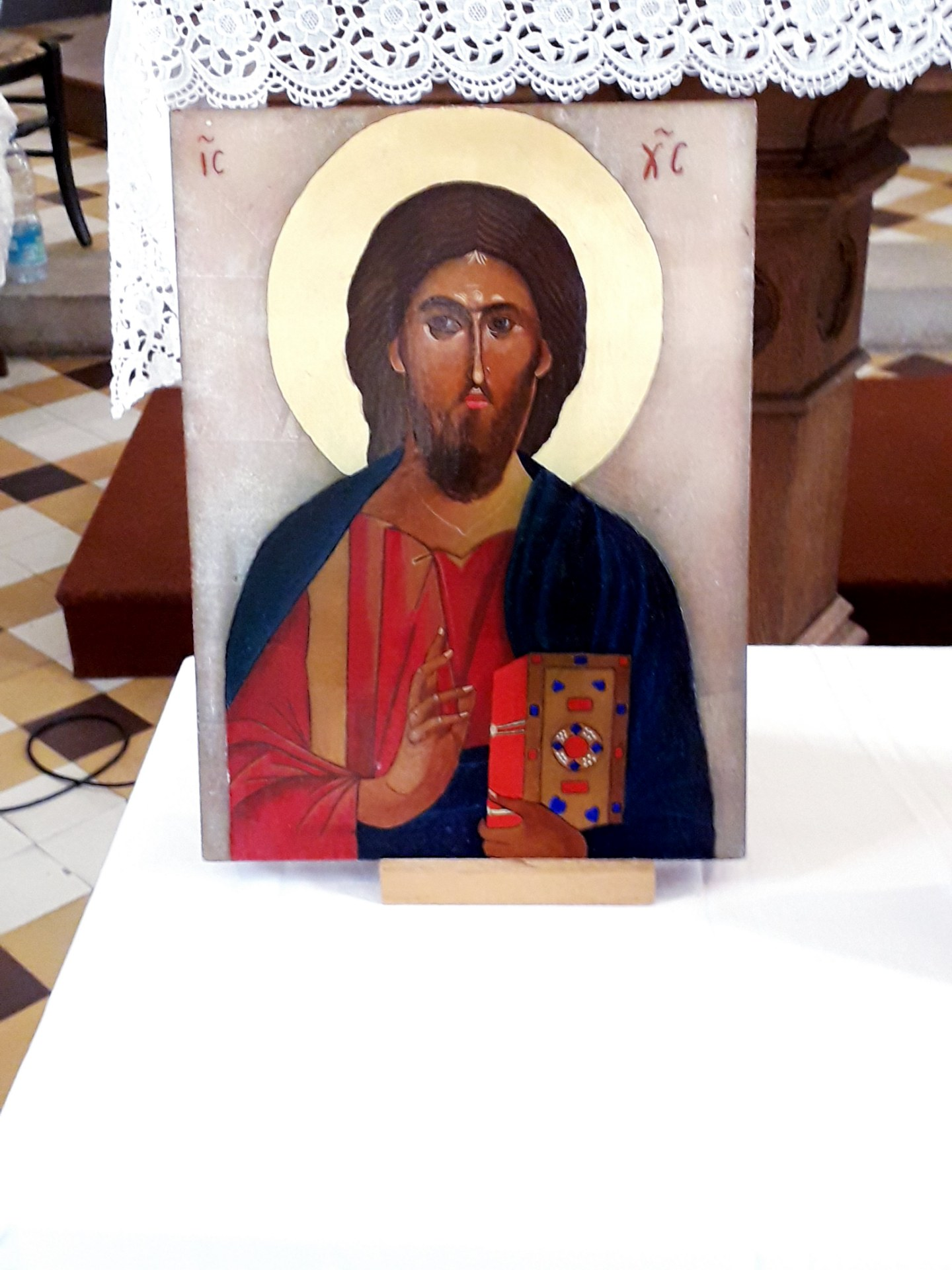 icône du Chrit en Gloire