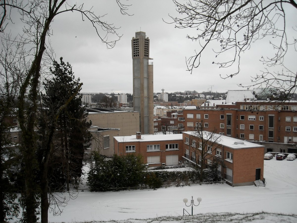 Images - Maubeuge sous la neige - 01