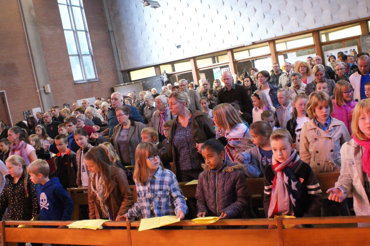Images - Stald - Messe de rentre#e du cate# - 2015