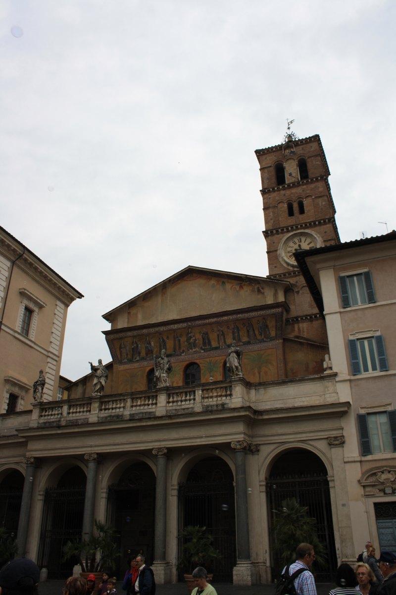 La Basilique Ste Marie in Trastavere