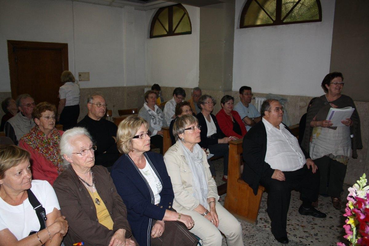 Messe au Centre spirituel (lieu d'hébergement)