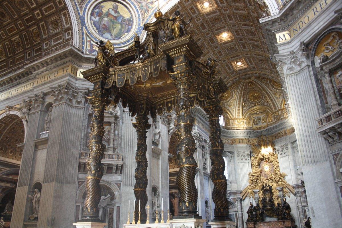 Le choeur de la Basilique St Pierre