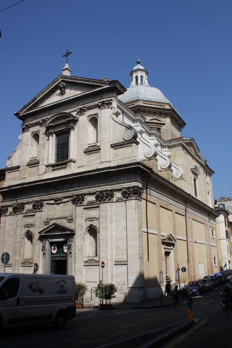 L'église Notre Dame des Monts