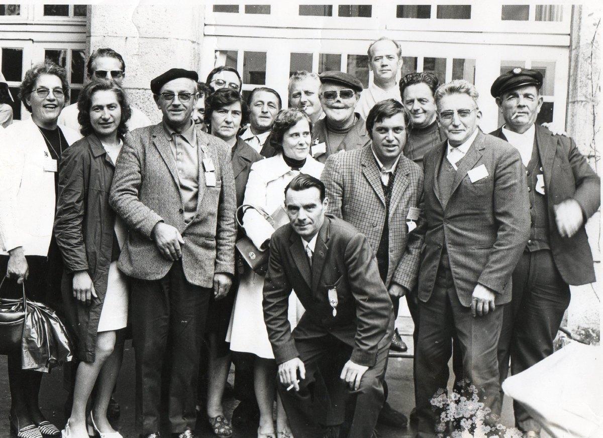 pèlerins et hospitaliers de Râches Août 1975