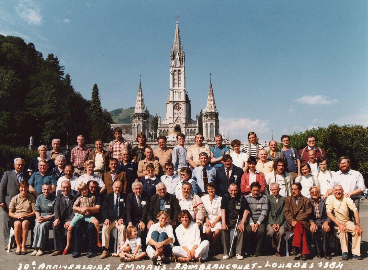 30ème anniversaire Emmaus Raimbeaucourt Août 1984
