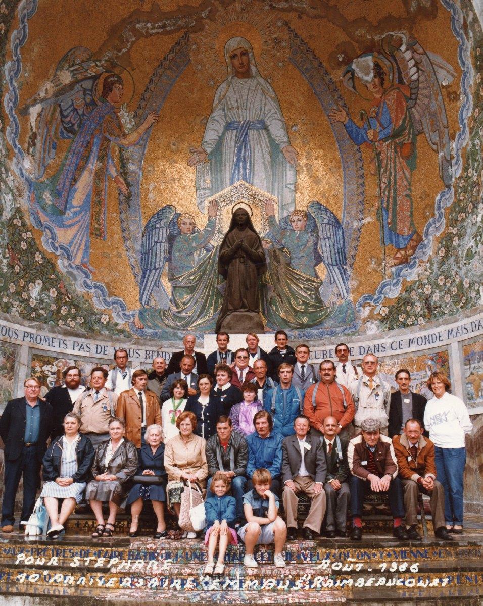 Anniversaire Raimbeauourt Emmaus Lourdes Août 1986