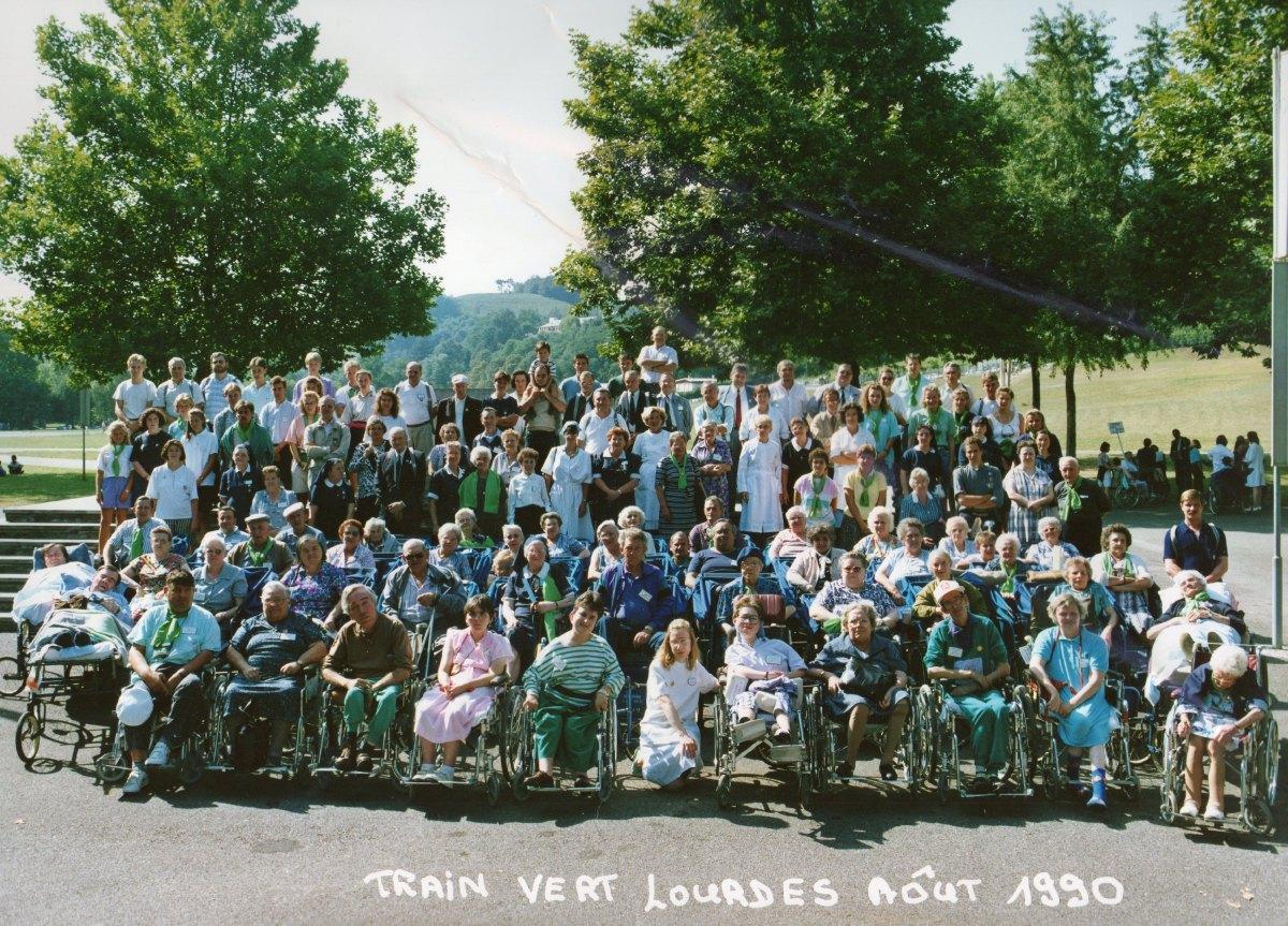 Train Vert Août 1990