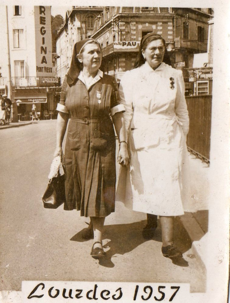 Lourdes 1957