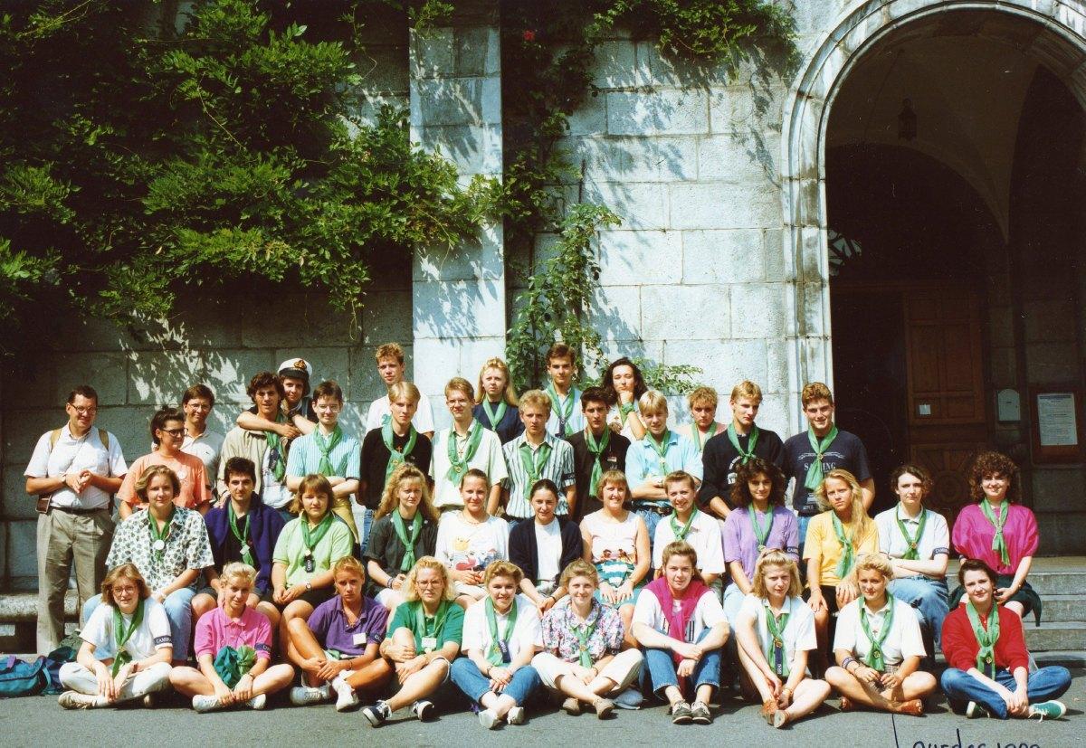 Pélé Août 1989 Jeunes Hospitaliers du Vert