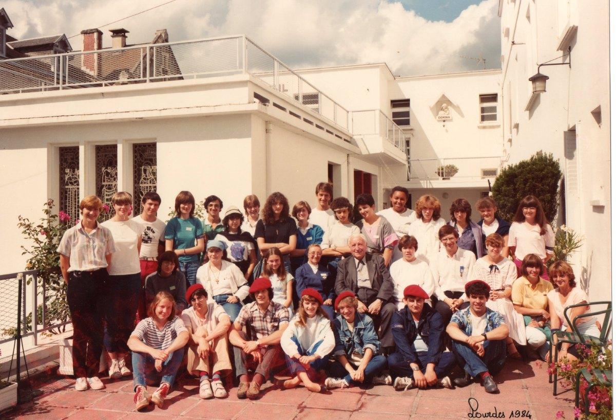 Pélé Août 1984 Jeunes Hospitaliers du Vert