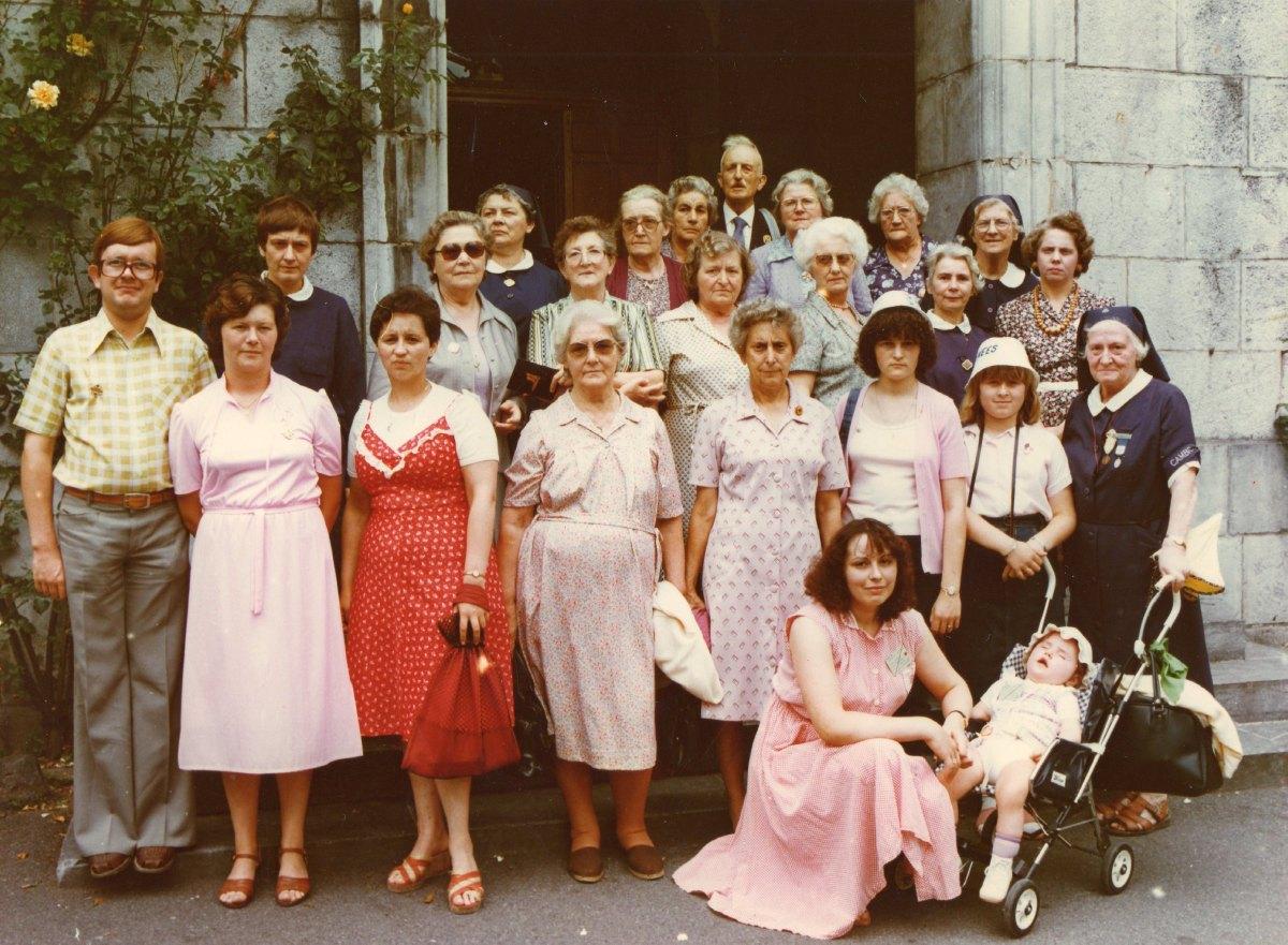 Hospitaliers, pélerins, malades du secteur de Lewarde août 1981