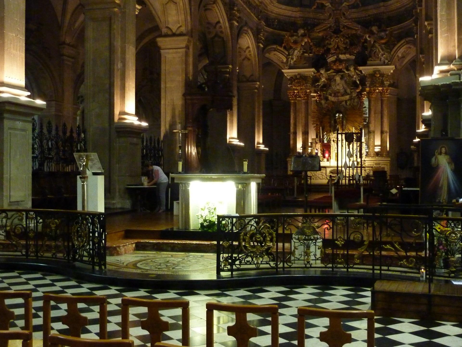 Intérieur de Notre Dame de Cambrai