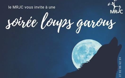 Invitation soiree loups garous