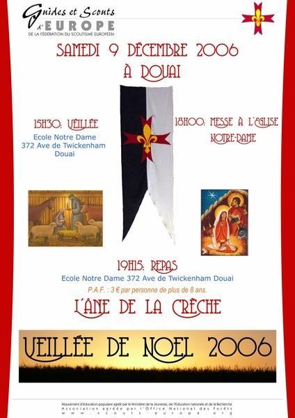 invitation-veillée noël 2006