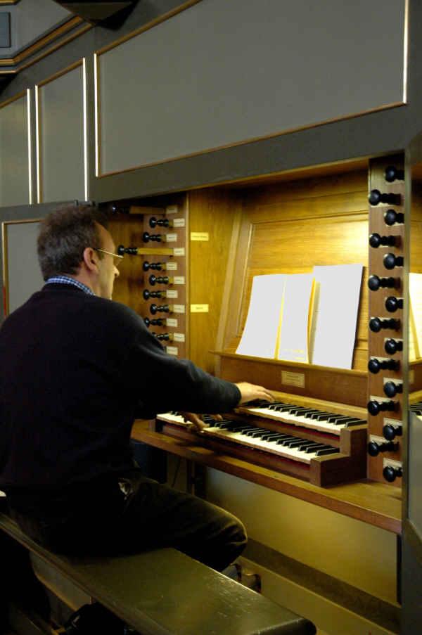 Jacques Baudson aux grandes orgues