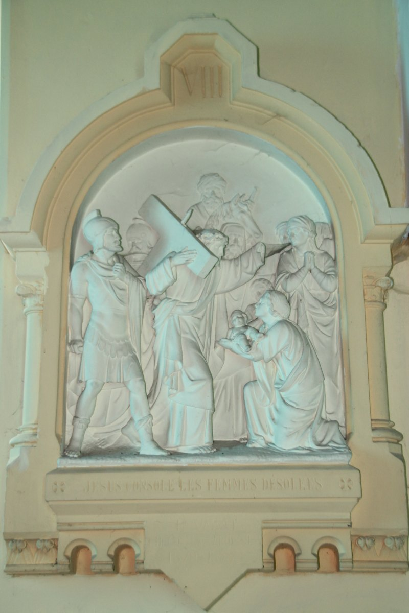 Jésus console les femmes désolées