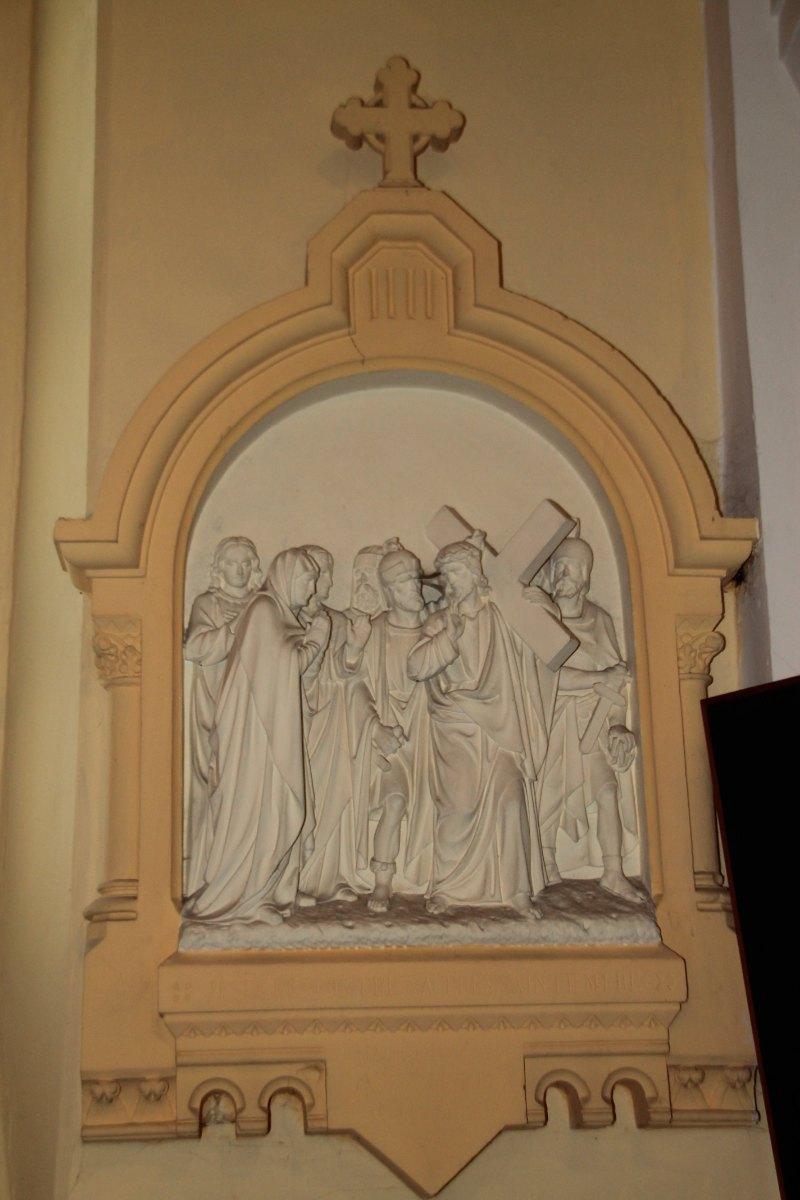 Jésus rencontre sa très Sainte Mère