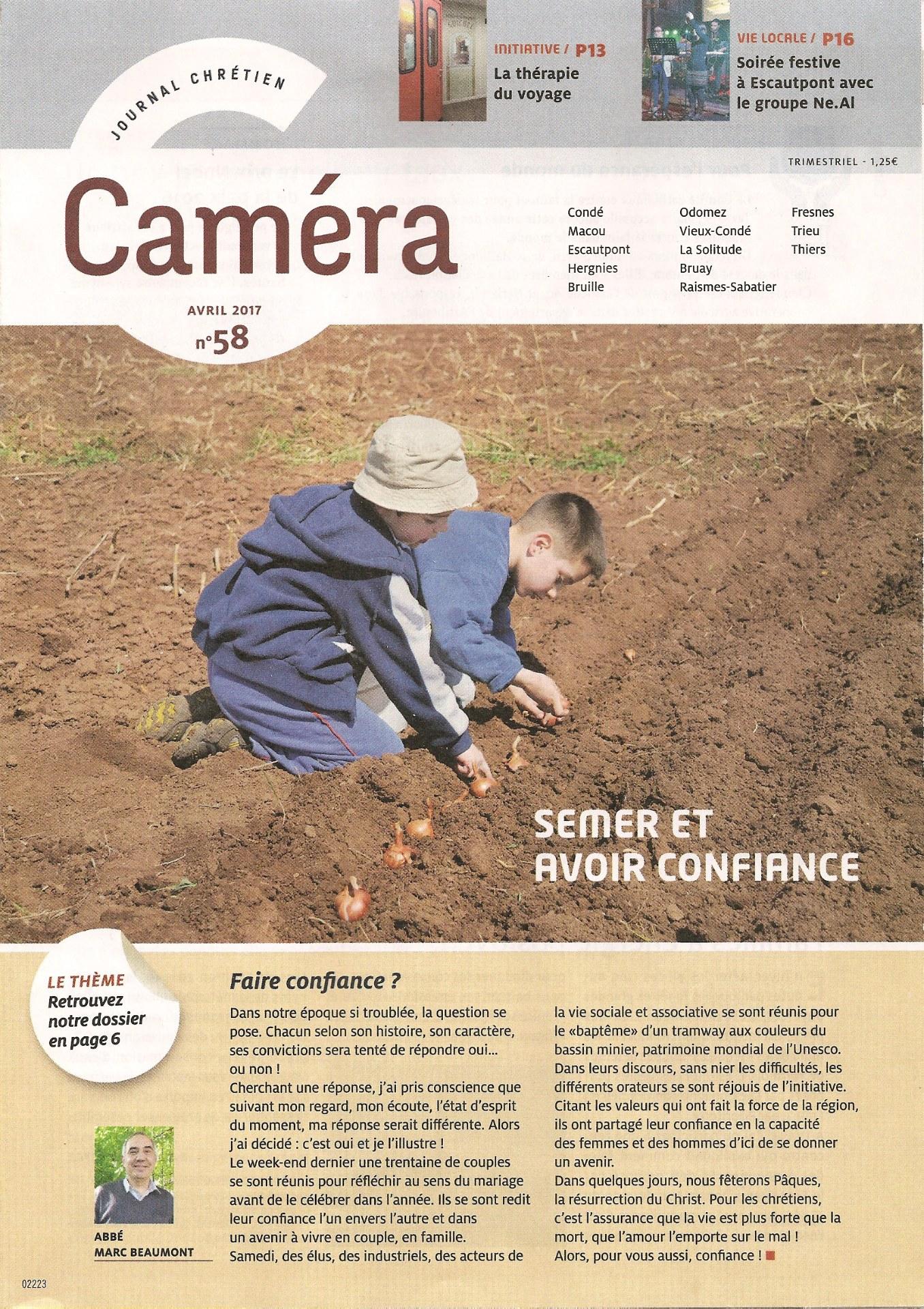 Journal Caméra printemps 2017