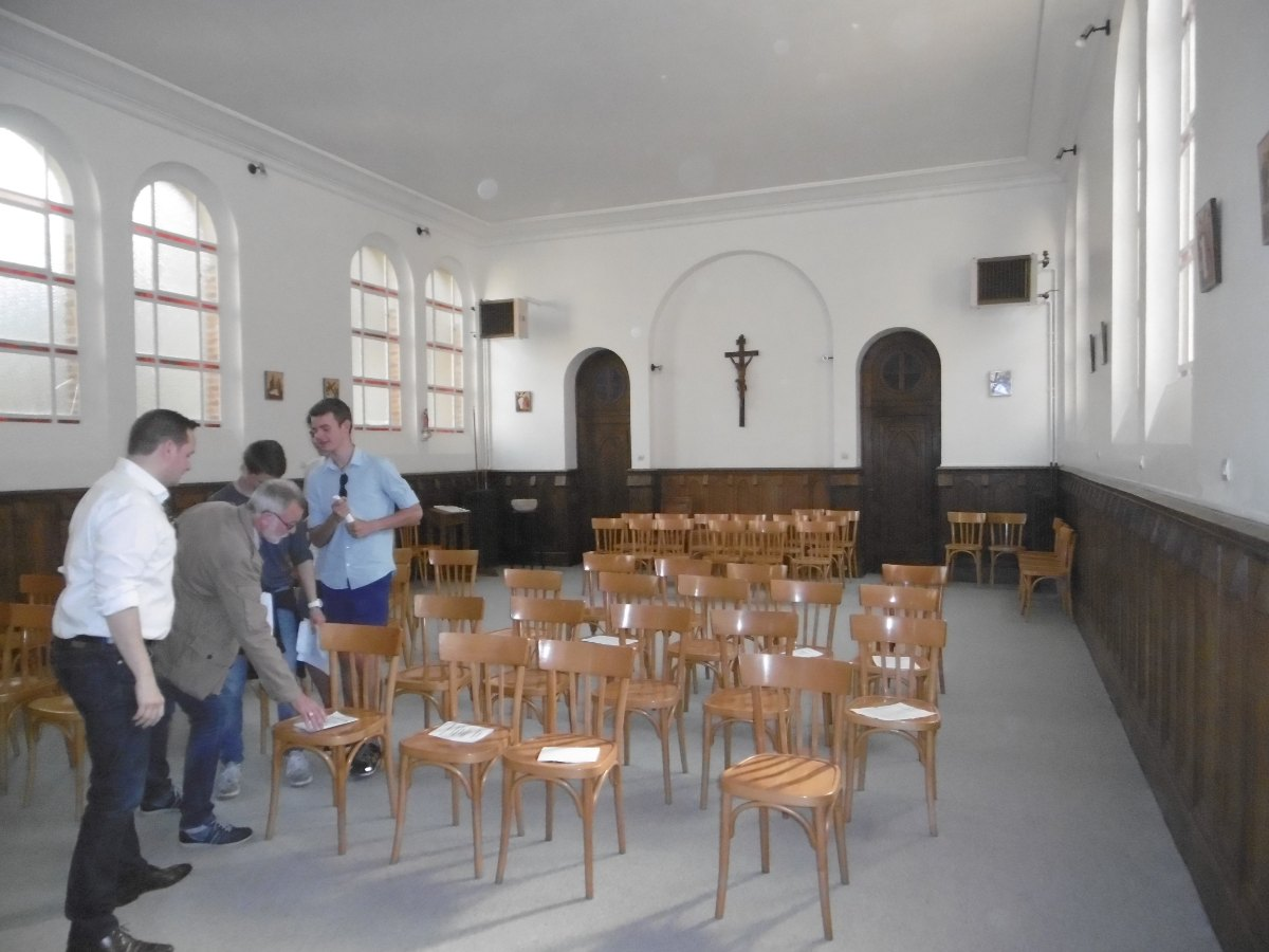 La chapelle.