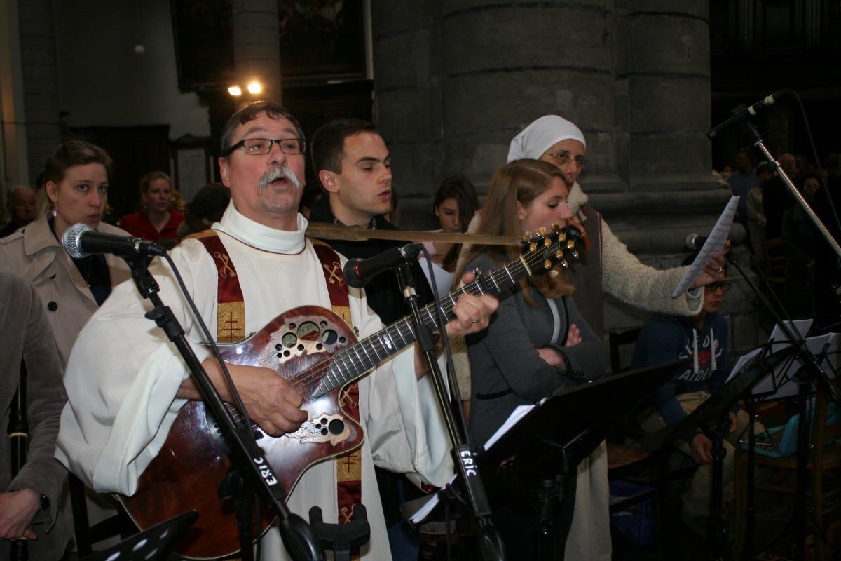 La chorale, avec Bertrand Devos!