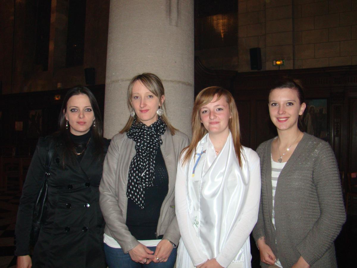 Laetitia, Jennyfer, Lucile et Mélody.