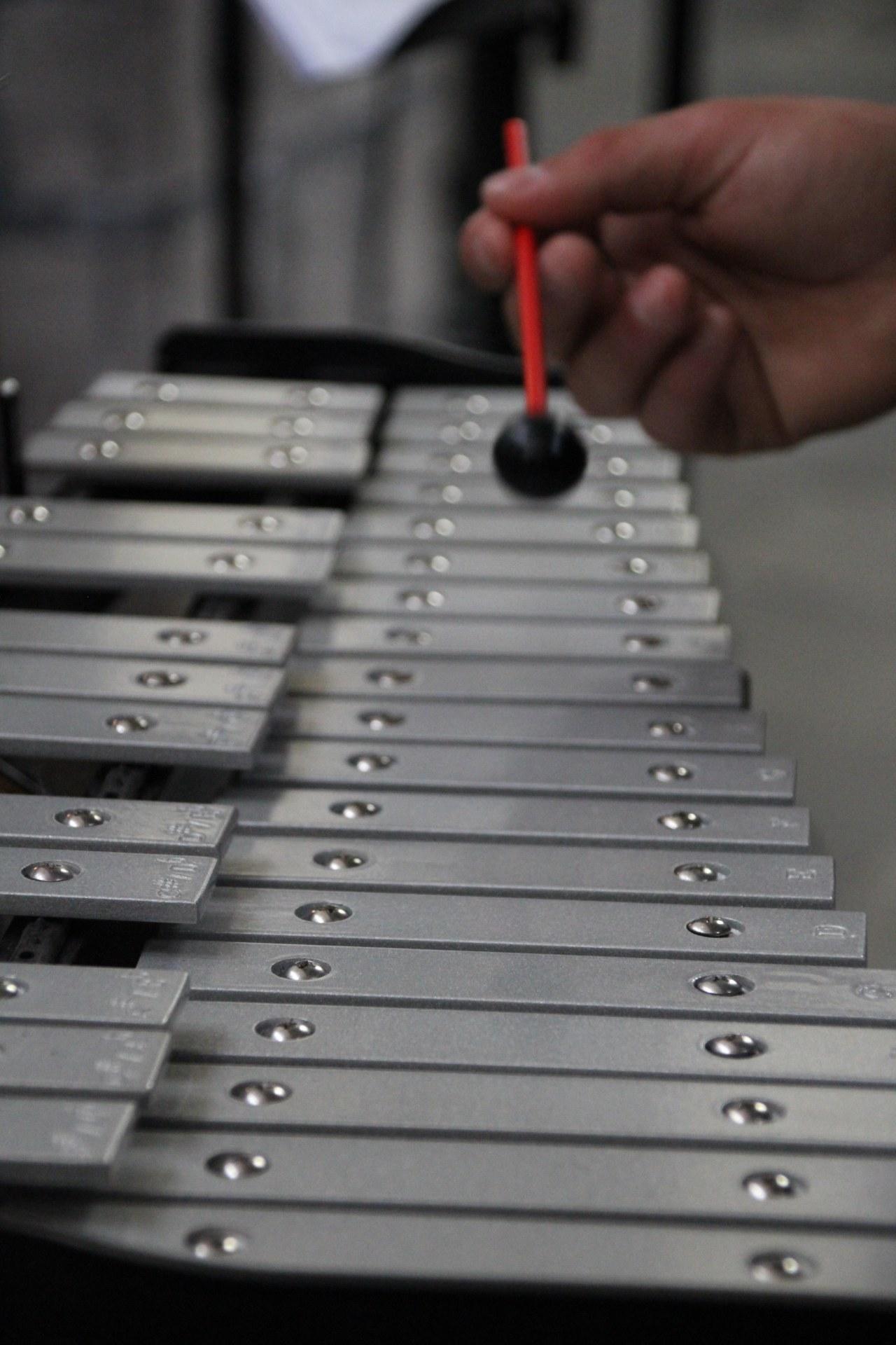 Le xylophone.