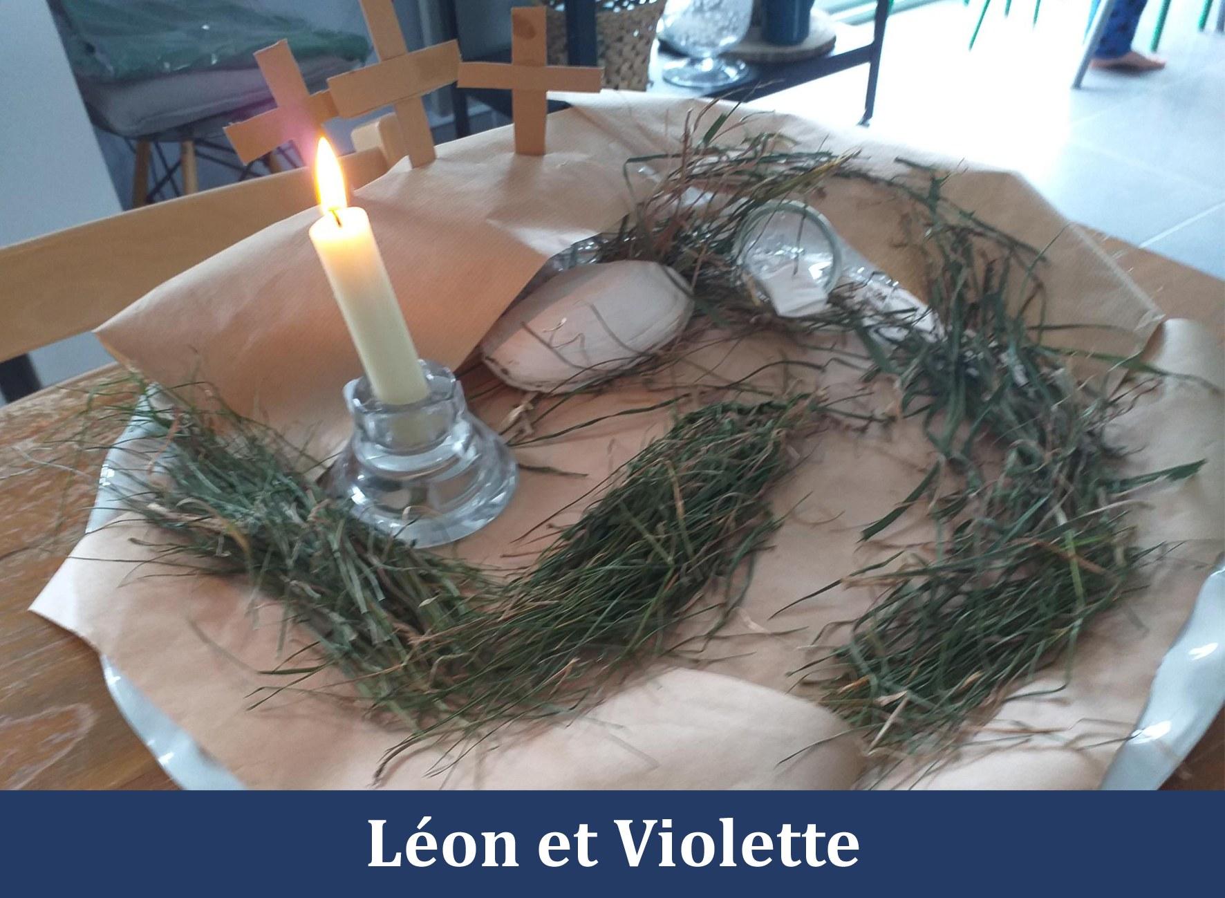 Jardin_Paques_2021 Leon et Violette