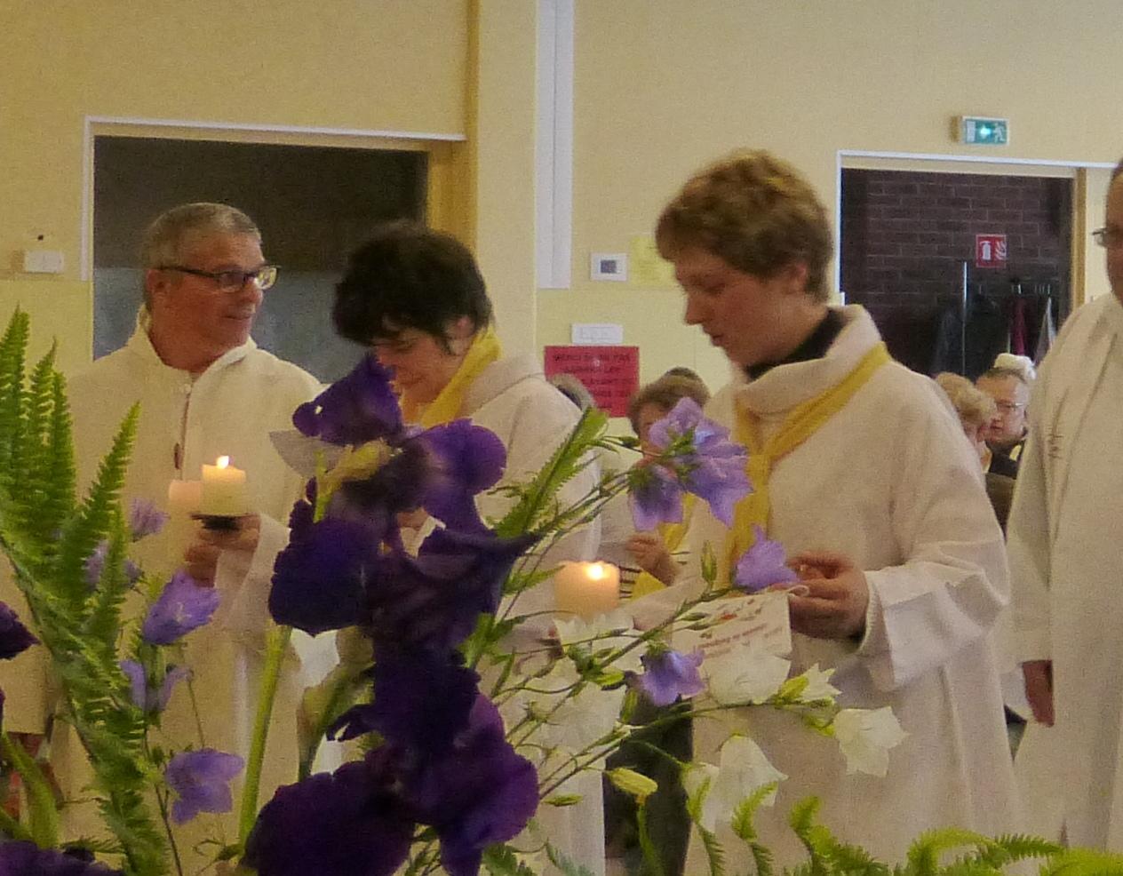 Les servants d'autel